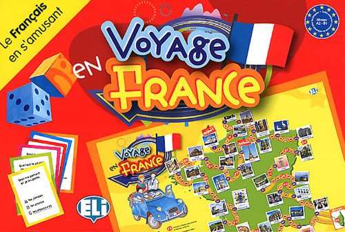 Voyage en France : Le français en s'amusant Niveau A2 - B1