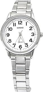 Casio Wrist Watch Girls Quartz Casual Watch, Analog and Stainless Steel - LTP1303D-7BV