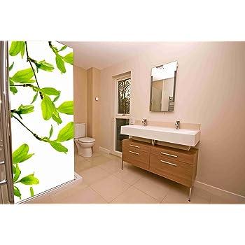 Vinilo para Mamparas baños Rama de Almendro |Varias Medidas 200x70cm | Adhesivo Resistente y de Facil Aplicación | Pegatina Adhesiva Decorativa de Diseño Elegante|: Amazon.es: Hogar