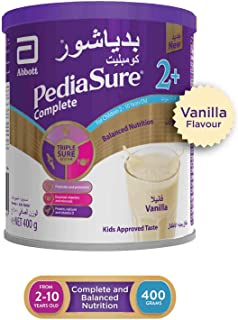 Pediasure Complete 2+ Vanilla 400 Gm(Pack of 1) CABN000218