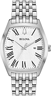 Bulova Women's Quartz Watch Metal Bracelet analog Display and Stainless Steel Strap, 96M145