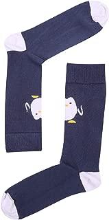 Hello Penguin Desenli Erkek Çorap