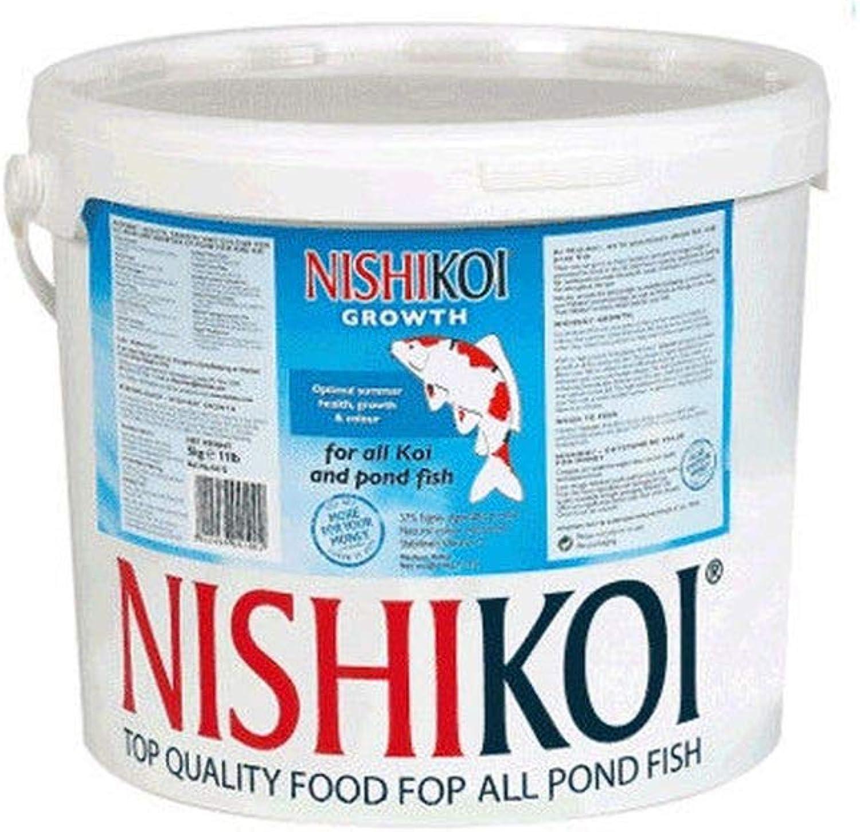 Pet's House 5kg NISHIKOI GROWTH FLOATING FISH FOOD SMALL PELLET KOI POND FEED PELLETS