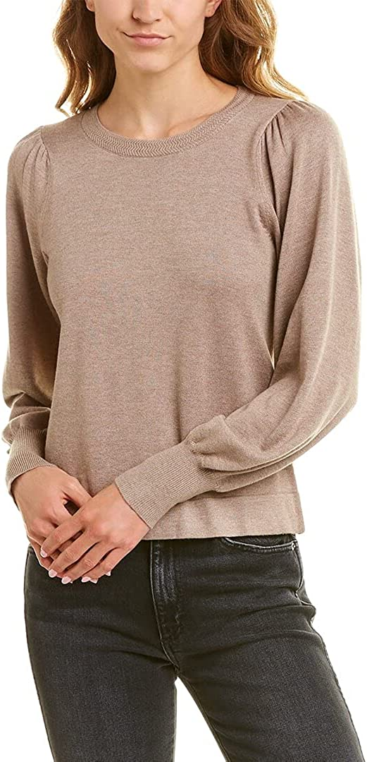 Lilla P Puff-Sleeve Sweater