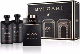 Bvlgari Man In Black Set (EDP, 60ml + After Shave Balm, 40ml + Shampoo Shower Gel, 40ml)