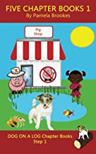 Five Chapter Books 1: Systematic Decodable Books for Phonics Readers and Folks with a Dyslexic Learning Style (DOG ON A LO...