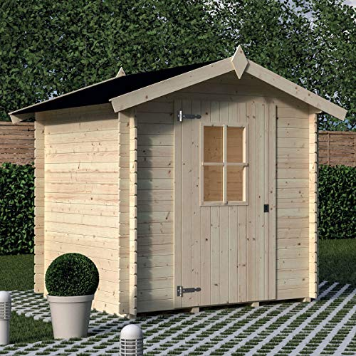 Casetta LONDRA legno nordico GARTENPRO 198x198x175/218H