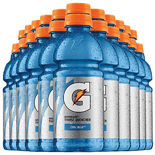 GATORADE® - COOL BLUE | 20 FL OZ (591 ml) Flaschen [24er Pack] inkl. 6,00 € DPG Pfand