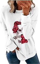 pour Sweatshirt Veste Femme Mode Lose Col Rond Imprimé Halloween Manches Longues Pullover Tops Sweatshirt Veste Femme à Ca...