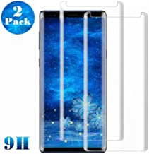 Galaxy S8 Plus Screen Protector, (2-Pack) Tempered Glass Screen Protector [Bubble Free][Full Screen Coverage][Case Friendly] for Samsung S8 Plus