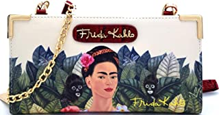 Authentic Cartoon Version Frida Kahlo Wallet Cross Body