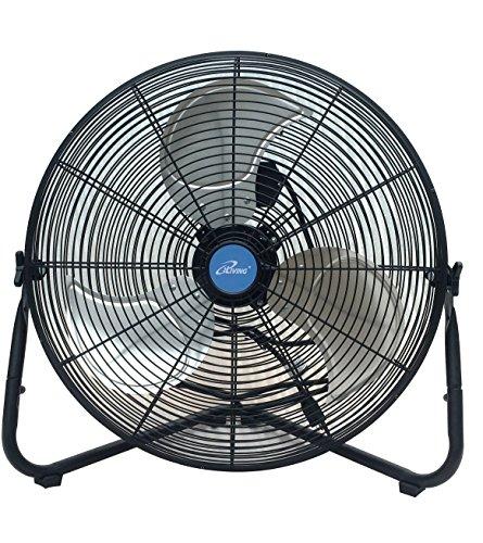 iLIVING ILG8F20 Wall Fan, 5830 CFM - 20 inch, Black