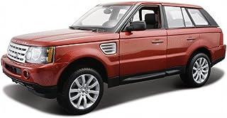 سيارة رينج روفر الرياضية سوف، احمر - مايستو 31145 1/18 بمقياس داي كاست