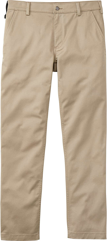 Duluth Trading Co 40 Grit, Men's Flex Twill Slim Fit Khaki Pants
