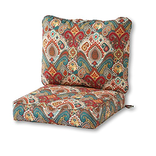 Greendale Home Fashions Painted Desert Outdoor 2-Piece Deep Seat Cushion Set