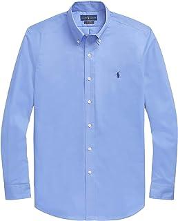 3d4864f98efb Polo Ralph Lauren Mens Classic Fit Oxford Longsleeve Buttondown Shirt