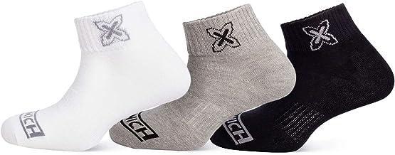 Munich Ankle Fashion Shocks sokken, volwassenen, uniseks, wit, grijs, zwart (meerkleurig), M-L