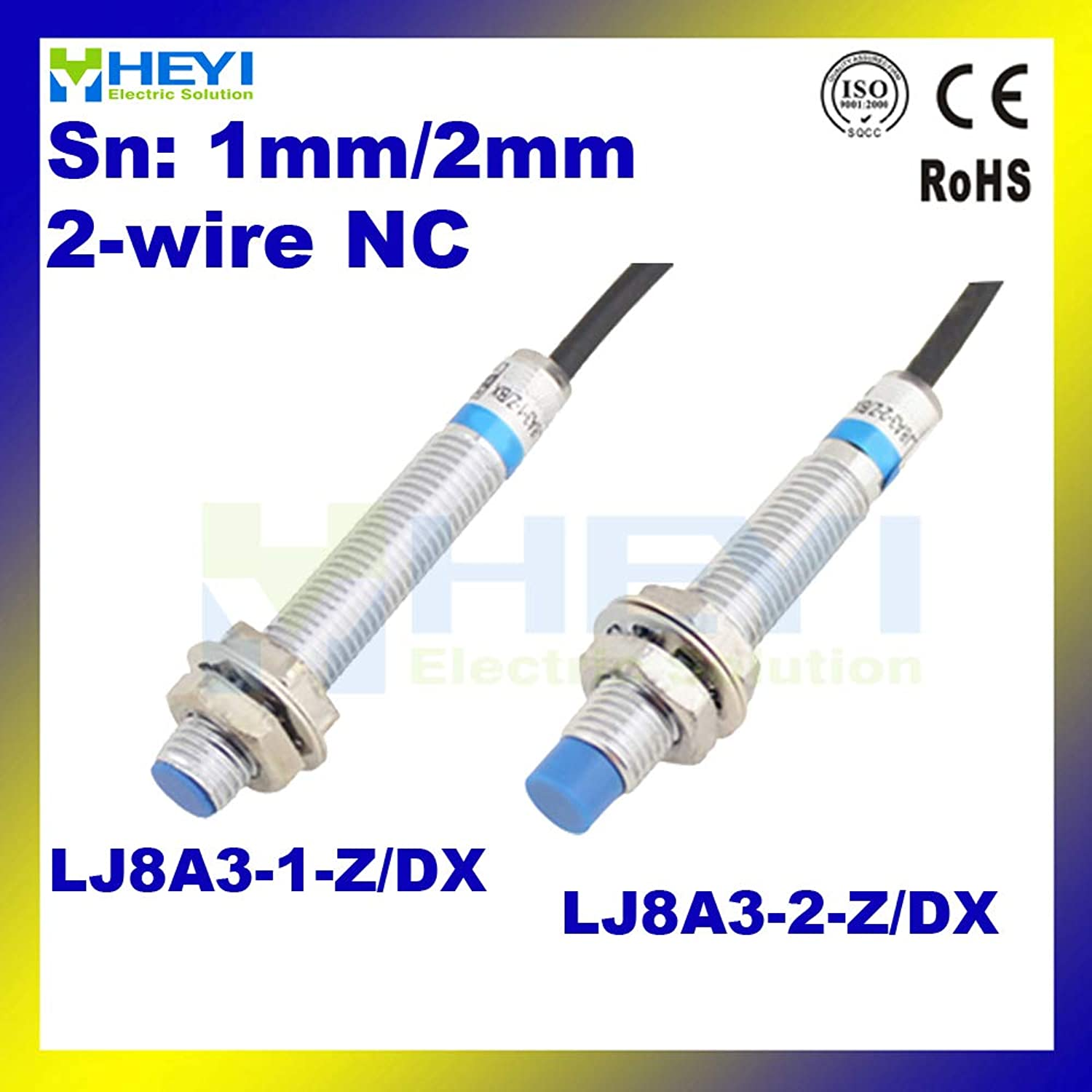 High Quality LJ8A31Z DX LJ8A32Z DX Inductive Proximity Sensor NC Sn 1mm or 2mm 2Wire Proximity Switch