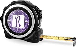 Initial Damask Tape Measure - 16 Ft (Personalized)