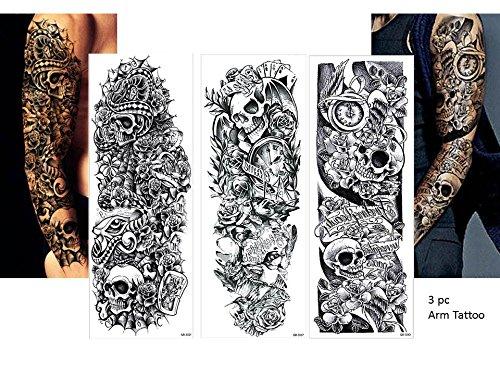 3 totenköpfe tattoo