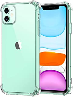 E-COSMOS Back Cover for iPhone 11 (Silicone_Transparent)