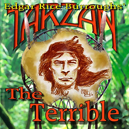 Tarzan the Terrible audiobook cover art