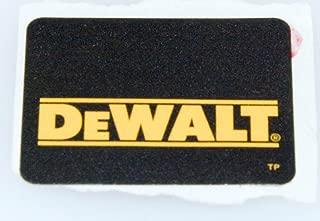 DEWALT N076341 Label Logo