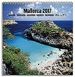 Grupo Erik Editores KAL1711 - Calendario de pared con anillos, año 2017, diseño Mallorca