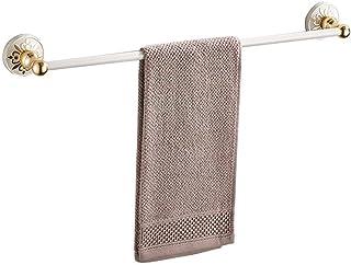 GWFVA Porte-Serviettes en Aluminium Vieilli Blanc Ivoire
