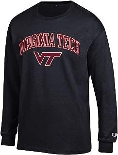 Elite Fan Shop NCAA Men's Long Sleeve T Shirt Black Arch