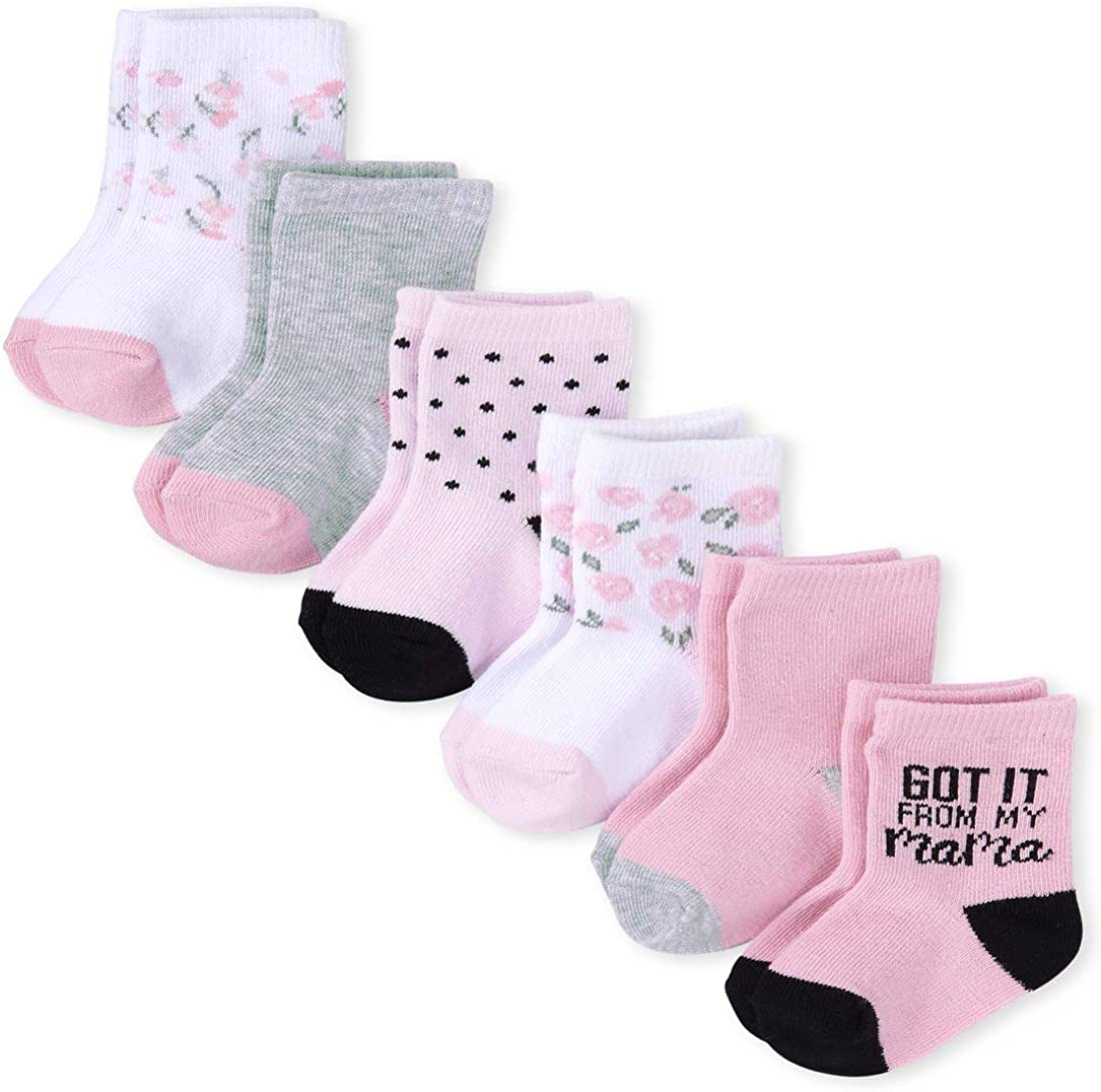 The Children's Sale item Place baby-girls Pack Great interest Six Socks of