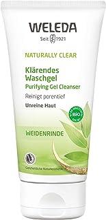 WELEDA Naturally Clear Klärendes Waschgel, Naturkosmetik bei Pickeln und unreiner Haut, Gesichtsreinigung und Gesichtspflege für die Mischhaut, bekämpft Hautunreinheiten 1 x 100 ml