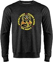Cobra Kai Motto Circle No Mercy Karate Kid Crewneck Sweatshirt for Men