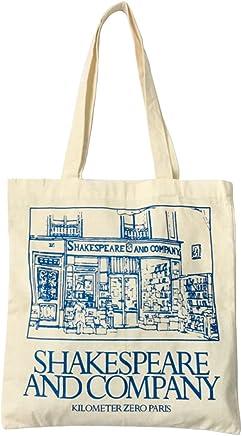 9ecd7b24754e7 Women s Canvas Shoulder Hand Bag Tote Bag Canvas Tote Shoulder Bag Stylish  Shopping Casual Bag Foldaway