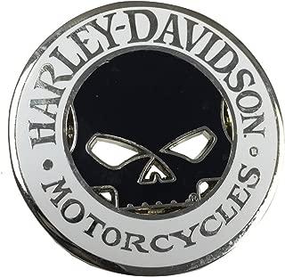 Harley-Davidson Willie G Skull Cutout Challenge Coin, 1.75 inch Coin 8004835