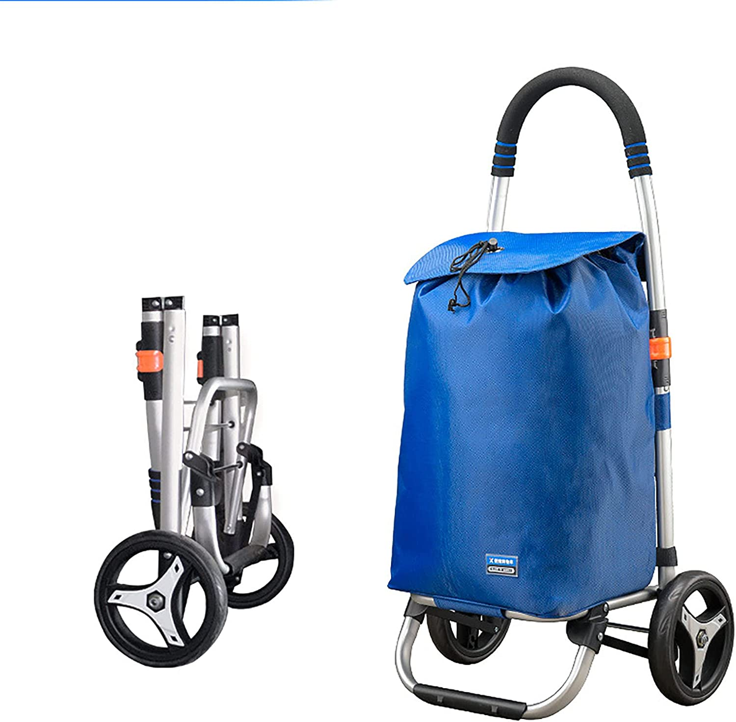 FVIWSJ Shopping Cart Manufacturer OFFicial shop Collapsible Reusable B Trolley and List price