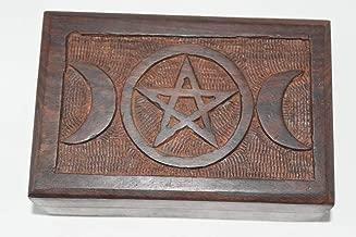 Nature's Enlightenment Triple Moon Box- Tarot Cards, Crystals, Altar Supplies, Healing, Meditation, Gift Giving