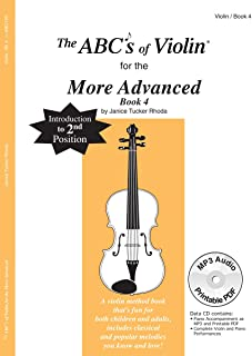 ABC19X - The ABCs Of Violin for the More Advanced, Book 4 (Book & CD)