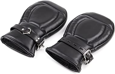 sans marque Sponge Boxing Gloves Lock Buckle Handcuffs Couple Tied Hands Toys Alternative Training Props Role-Playing Props S