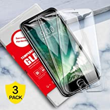 SmartDevil Screen Protector for iPhone 8 Plus/7 Plus/6 Plus/6s Plus [3 Pack] 9H Hardness, Scrach Proof, Anti-fingerprint, Bubble Free, HD Tempered Glass Screen Protector with Alignment Frame[5.5 inch]