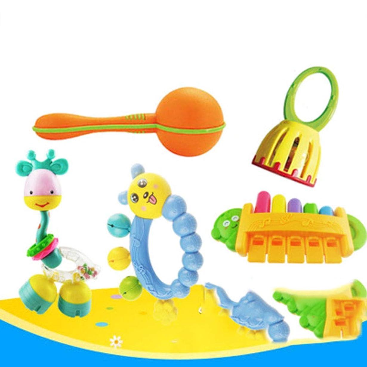 離れた売り手意外赤ちゃんのギフトボックス、赤ちゃんパズルハンドベルハーモニカ子供のおもちゃの組み合わせ、ギフトボックスセット、ギフトギフト、