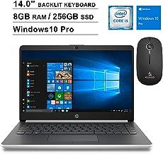 2020 Newest HP Pavilion 14 Inch Laptop (Intel Quad-Core...