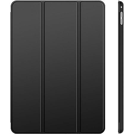 JETech 3280- Funda para iPad Mini 4, Carcasa con Soporte Función, Auto-Sueño/Estela, Negro