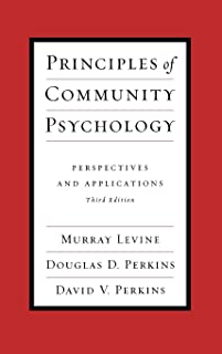 Principles of Community Psychology: Perspectives and Applications