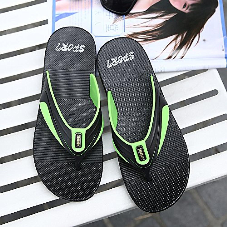 @Sandals Weichen Boden Boden Boden Badeschuhe, Hausschuhe, Flip Flops, Rutschfeste Füße, Schuhe Modische Männer.  91a24c