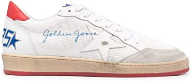 Golden Goose Luxury Fashion Uomo GMF00117F00103510476 Bianco Poliestere Sneakers | Ss21