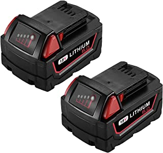 Best milwaukee m18 replacement battery Reviews