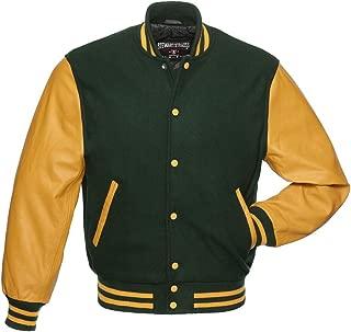 Best green letterman jacket Reviews