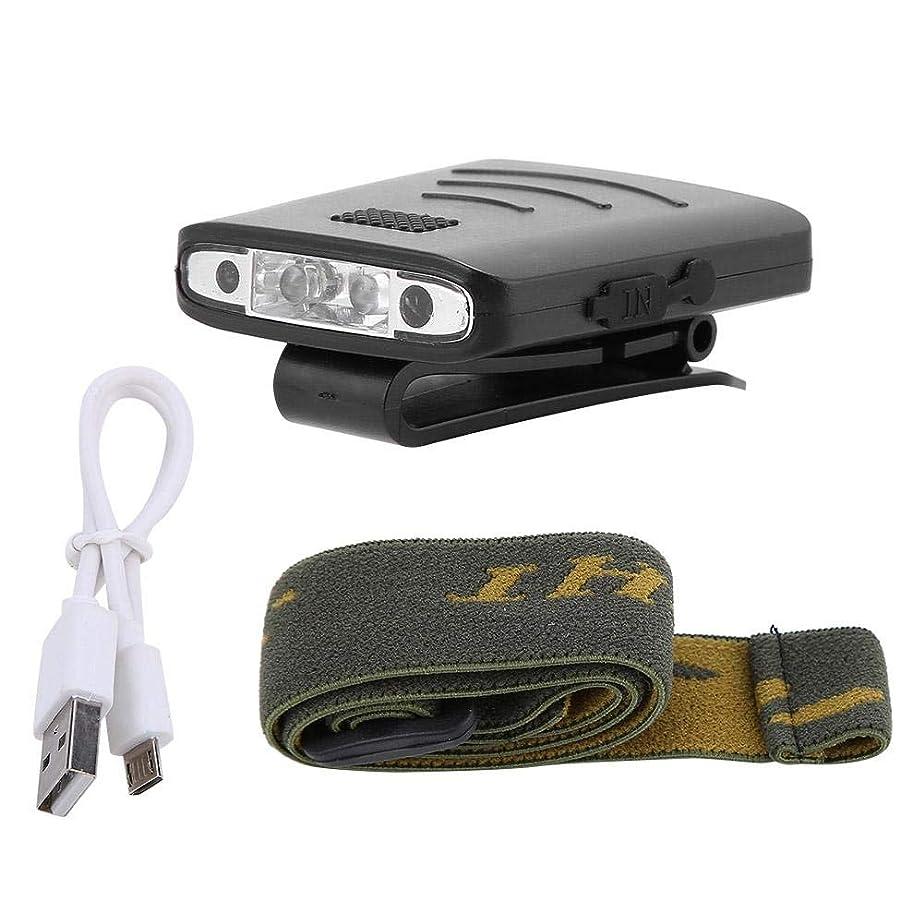 種をまくマイナーベッドを作るAlomejor USB充電アウトドアキャップ 帽子 ライト ヘッドランプ クリップ ヘッドライト 夜釣り キャンプ