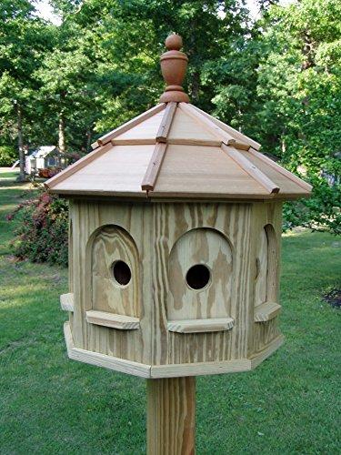 Wood Birdhouse Amish Homemade Handmade Handcrafted Large